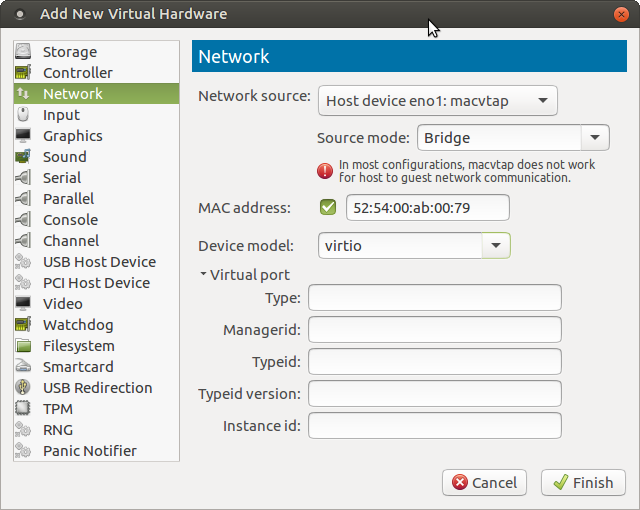 Making a Chromecast work in a VM